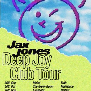 ARTWORK Jax Jones Deep Joy Club Tour 2