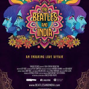 Beatles And India portrait RGB