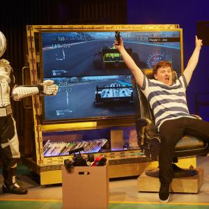 Billionaire Boy Live On Stage by Birmingham Stage Company Photo by Mark Douet C31 B1636