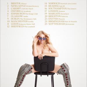 Self Esteem 2021 tour poster