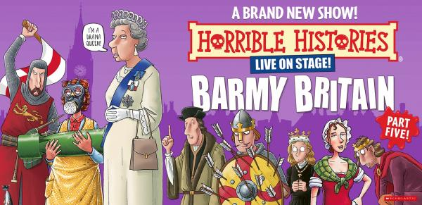 Horrible Histories Barmy Britain Part 5!